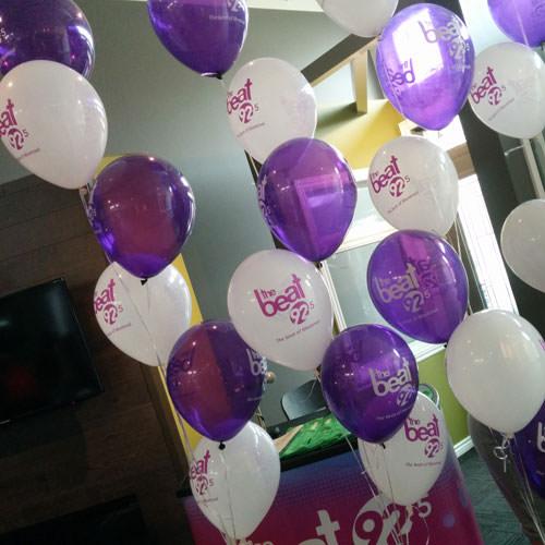 Logo balloons