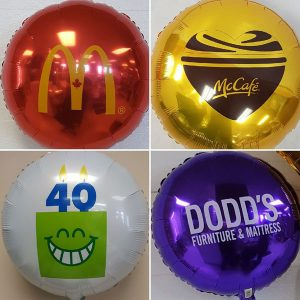 customized foil balloons