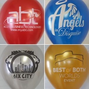 metallic customized balloons